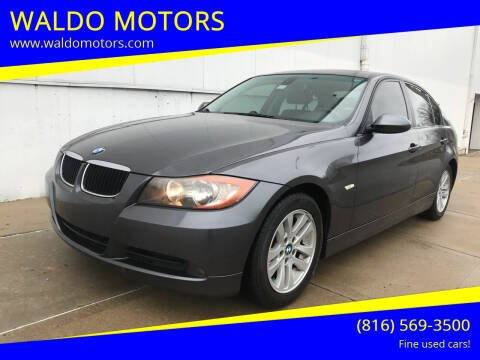 2007 BMW 3 Series for sale at WALDO MOTORS in Kansas City MO