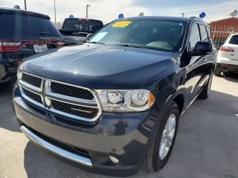 2013 Dodge Durango for sale at Hugo Motors INC in El Paso TX