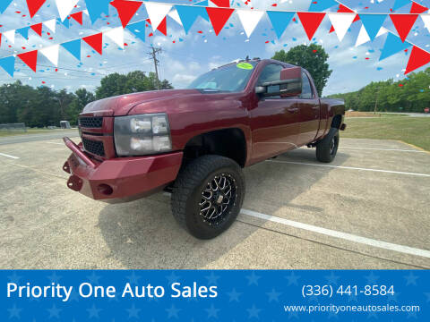 2014 Chevrolet Silverado 2500HD for sale at Priority One Auto Sales in Stokesdale NC
