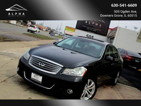 2009 Infiniti M45 for sale at Alpha Luxury Motors in Downers Grove IL