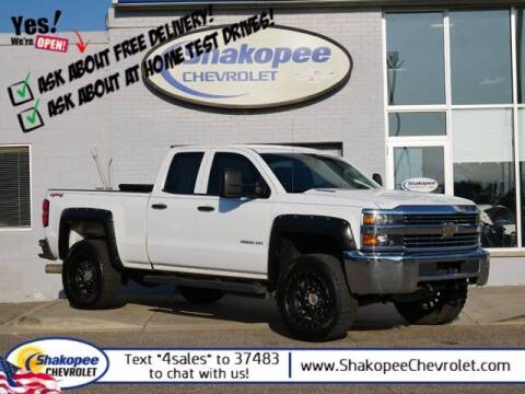 2015 Chevrolet Silverado 2500HD for sale at SHAKOPEE CHEVROLET in Shakopee MN