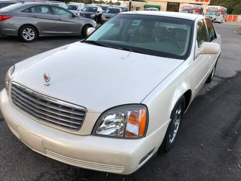 2002 Cadillac DeVille for sale at Atlantic Auto Sales in Garner NC