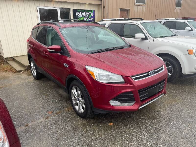 2013 Ford Escape for sale at Randys Auto Sales in Gardner MA