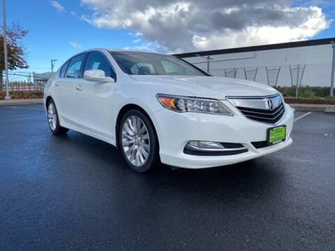 2014 Acura RLX for sale at Sunset Auto Wholesale in Tacoma WA