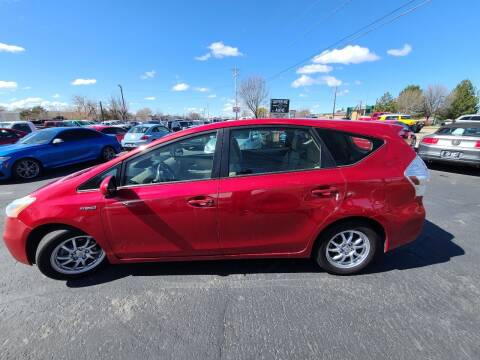 2012 Toyota Prius v for sale at Silverline Auto Boise in Meridian ID