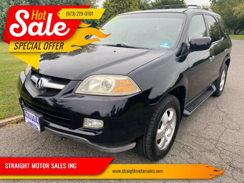 2005 Acura MDX for sale at STRAIGHT MOTOR SALES INC in Paterson NJ