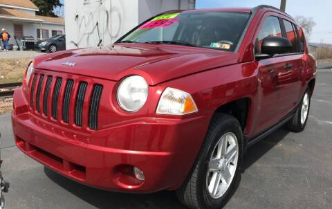 2007 Jeep Compass for sale at Red Top Auto Sales in Scranton PA
