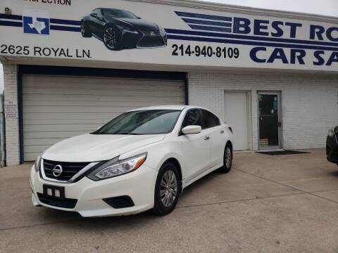 2017 Nissan Altima for sale at Best Royal Car Sales in Dallas TX
