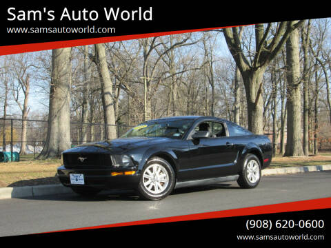 2008 Ford Mustang for sale at Sam's Auto World in Roselle NJ