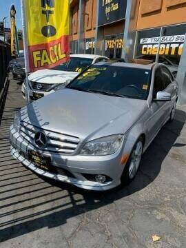2010 Mercedes-Benz C-Class for sale at Los Primos Auto Plaza in Antioch CA