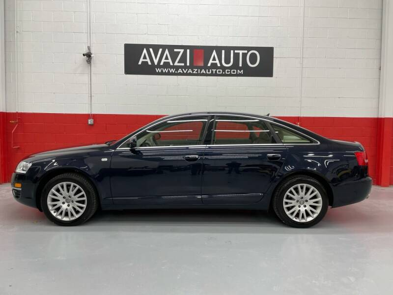 2007 Audi A6 for sale at AVAZI AUTO GROUP LLC in Gaithersburg MD