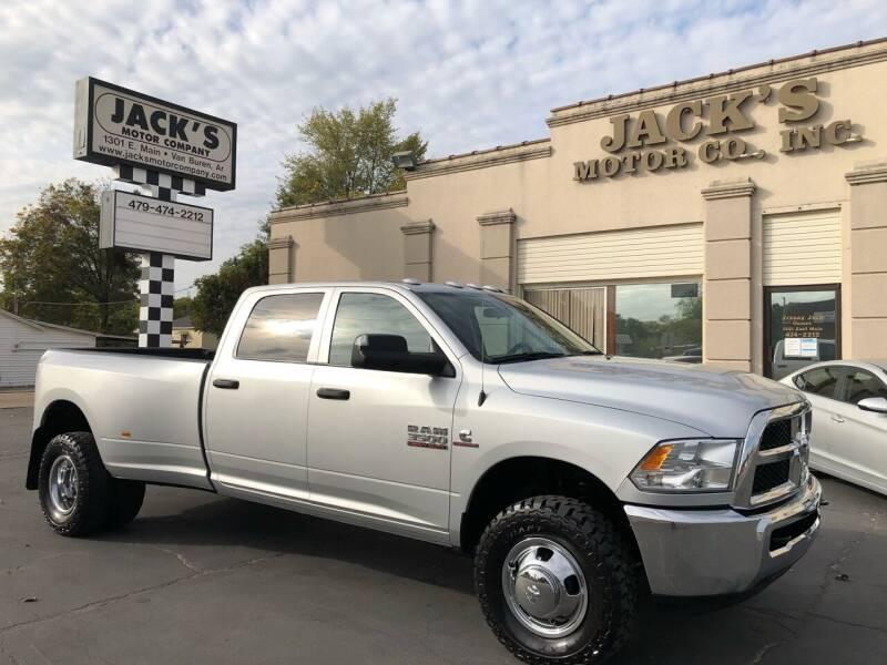2018 RAM Ram Pickup 3500 for sale at JACK'S MOTOR COMPANY in Van Buren AR