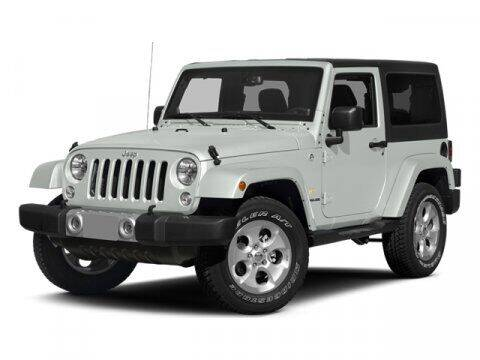 2014 Jeep Wrangler for sale at BEAMAN TOYOTA in Nashville TN
