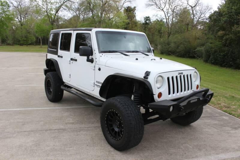 2012 Jeep Wrangler Unlimited for sale at Clear Lake Auto World in League City TX