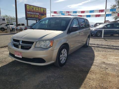 2015 Dodge Grand Caravan for sale at Bickham Used Cars in Alamogordo NM