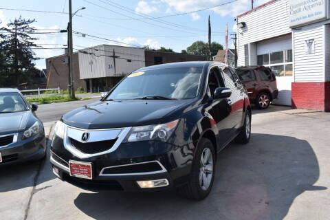 2011 Acura MDX for sale at New Park Avenue Auto Inc in Hartford CT