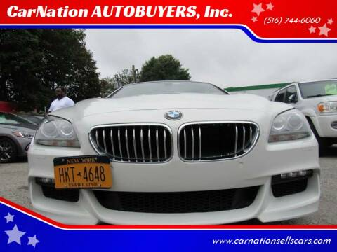 2013 BMW 6 Series for sale at CarNation AUTOBUYERS, Inc. in Rockville Centre NY