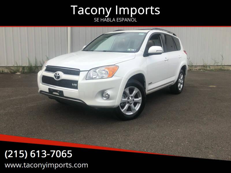 2012 Toyota RAV4 for sale at Tacony Imports in Philadelphia PA