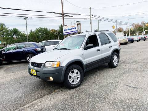 2002 Ford Escape for sale at New Wave Auto of Vineland in Vineland NJ