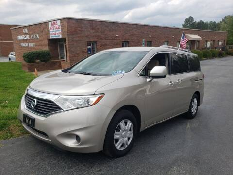 2012 Nissan Quest for sale at ARA Auto Sales in Winston-Salem NC