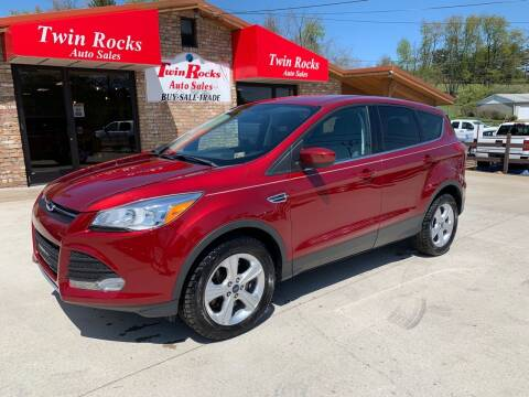 2016 Ford Escape for sale at Twin Rocks Auto Sales LLC in Uniontown PA