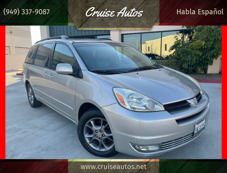 2005 Toyota Sienna for sale at Cruise Autos in Corona CA