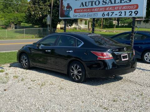 2015 Nissan Altima for sale at Hill Country Auto Sales in Maynard AR