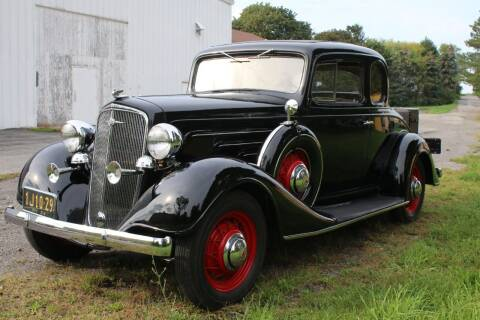 1934 Chevrolet Master Deluxe for sale at Great Lakes Classic Cars & Detail Shop in Hilton NY