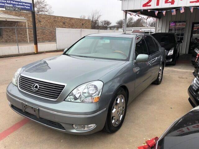 2002 Lexus LS 430 for sale at East Dallas Automotive in Dallas TX