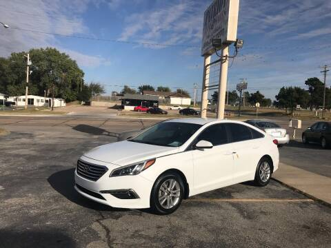 2015 Hyundai Sonata for sale at Patriot Auto Sales in Lawton OK