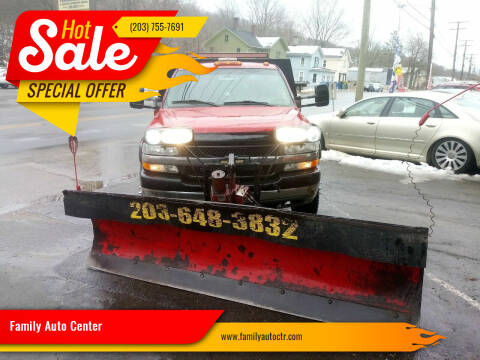 2001 Chevrolet Silverado 3500 for sale at Family Auto Center in Waterbury CT