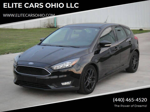 2016 Ford Focus for sale at ELITE CARS OHIO LLC in Solon OH