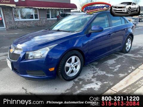 2013 Chevrolet Cruze for sale at Phinney's Automotive Center in Clayton NY