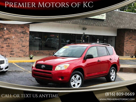 2008 Toyota RAV4 for sale at Premier Motors of KC in Kansas City MO