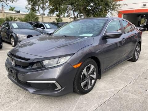 2019 Honda Civic for sale at Florida Fine Cars - West Palm Beach in West Palm Beach FL