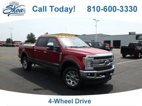2018 Ford F-250 Super Duty for sale at Erick's Used Car Factory in Flint MI