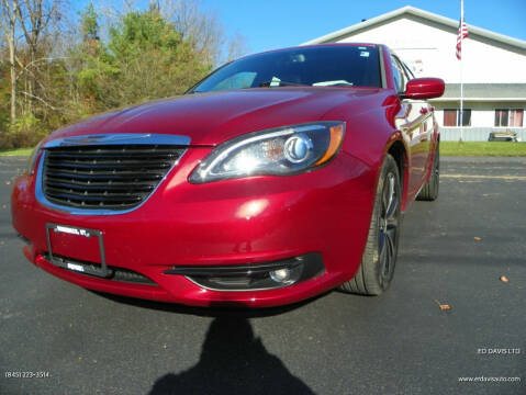 2014 Chrysler 200 for sale at Ed Davis LTD in Poughquag NY