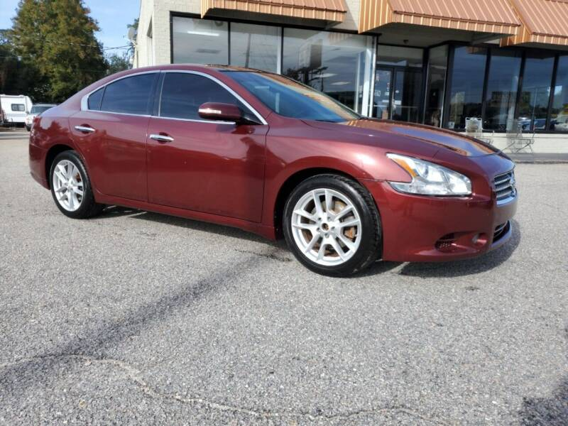2011 Nissan Maxima for sale at Ron's Used Cars in Sumter SC