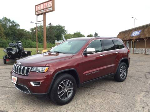 2018 Jeep Grand Cherokee for sale at MOTORS N MORE in Brainerd MN