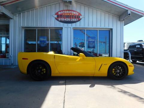 2009 Chevrolet Corvette for sale at Motorsports Unlimited in McAlester OK