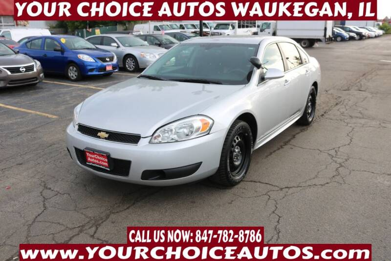 2016 Chevrolet Impala Limited for sale at Your Choice Autos - Waukegan in Waukegan IL