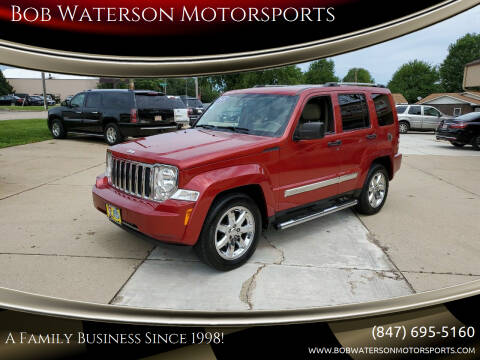 2010 Jeep Liberty for sale at Bob Waterson Motorsports in South Elgin IL