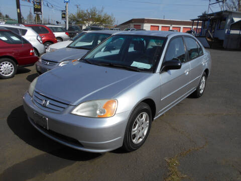 2002 Honda Civic for sale at Family Auto Network in Portland OR
