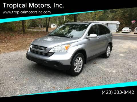2007 Honda CR-V for sale at Tropical Motors, Inc. in Riceville TN