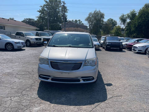 2012 Chrysler Town and Country for sale at All Starz Auto Center Inc in Redford MI