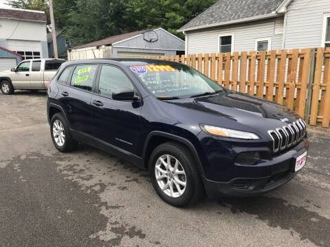 2015 Jeep Cherokee for sale at PEKIN DOWNTOWN AUTO SALES in Pekin IL