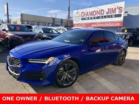 2021 Acura TLX for sale at Diamond Jim's West Allis in West Allis WI