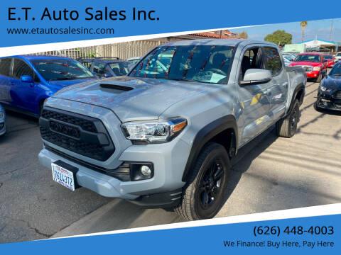 2018 Toyota Tacoma for sale at E.T. Auto Sales Inc. in El Monte CA