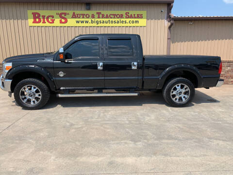 2011 Ford F-250 Super Duty for sale at BIG 'S' AUTO & TRACTOR SALES in Blanchard OK