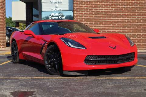 2019 Chevrolet Corvette for sale at Hobart Auto Sales in Hobart IN